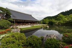 Tenryu籍寺庙在京都,日本 免版税库存图片