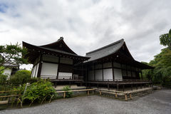 Tenryu籍,寺庙在京都,日本 免版税库存照片