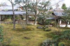 Tenryu ji在京都 免版税图库摄影