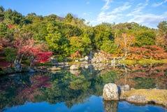 Sogenchi Teien in Tenryuji Temple, arashiyama, kyoto stock photography