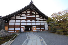 Tenryu-ji Zen Temple in Arashiyama. Stock Photography