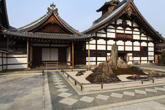 Tenryu-ji Zen Temple in Arashiyama. Royalty Free Stock Images