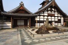 Tenryu-ji Zen Temple in Arashiyama. Kyoto, Japan - Tenryu-ji Zen Temple in Arashiyama. Buddhist zen temple of Rinzai school. UNESCO World Heritage Site Royalty Free Stock Images