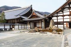 Tenryu-ji Zen Temple in Arashiyama. Kyoto, Japan - Tenryu-ji Zen Temple in Arashiyama. Buddhist zen temple of Rinzai school. UNESCO World Heritage Site Stock Image