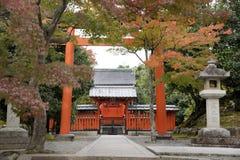 Tenryu-ji Zentempel in Kyoto Stockfotos