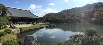 Tenryuji寺庙 图库摄影