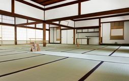 Tenryuji寺庙Daihoujyo Arasiyama京都日本 库存照片