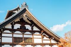 Tenryuji świątynna tradycyjna architektura w Kyoto, Japonia Obrazy Stock