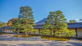 Tenryuji Sogenchi Garden in Kyoto Royalty Free Stock Images