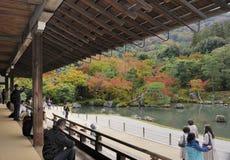 Tenryuji Sogenchi Garden Stock Photo