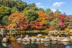 Tenryuji Sogenchi, sitio del patrimonio mundial en Kyoto Fotografía de archivo