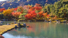 Tenryuji Sogenchi, World Heritage Site in Kyoto Royalty Free Stock Images