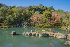 Tenryuji Temple in Arashiyama, Kyoto, Japan Royalty Free Stock Images