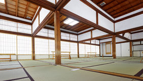 Tenryuji temple Daihoujyo Arasiyama Kyoto Japan. Tatami room in Tenryuji temple Daihoujyo Arasiyama Kyoto Japan Royalty Free Stock Images