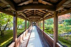 Tenryuji temple is the famous zen temple. In Kyoto, Japan Stock Photos