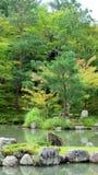 Tenryuji temple garden in Arashiyama, Kyoto Royalty Free Stock Photo