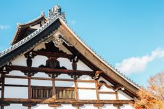 Tenryuji temple traditional architecture in Kyoto, Japan. Tenryuji temple, Japanese traditional architecture in Kyoto, Japan Stock Images