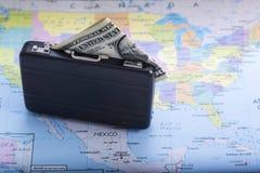 Tensão e engano entre os dois países e duas nações Imagens de Stock