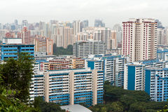 Tens of building in Singapore Stock Photography