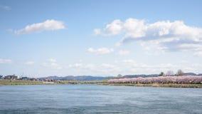 Tenshochi公园看法在岩手县,日本为t是著名的 库存图片