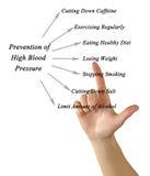 Tensión arterial alta de Preventioning fotografía de archivo libre de regalías