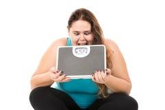 Tensión de la dieta Foto de archivo libre de regalías