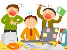 Tensión en el trabajo libre illustration