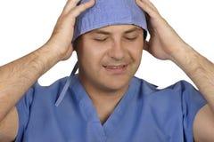 Tensión médica Imagen de archivo libre de regalías