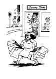 Tensión que hace compras (2008) Imágenes de archivo libres de regalías