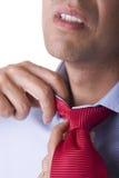 Tensión del hombre de negocios Imagen de archivo