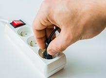 Tension électrique Photographie stock libre de droits