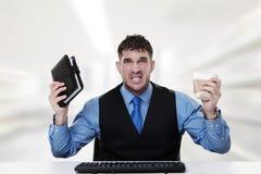 Tension au travail photos stock