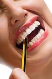Tension de crayon Photo stock