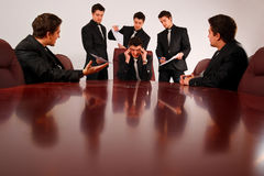 tension de panne aux virages Images libres de droits