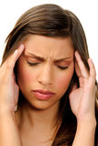 Tension headache Royalty Free Stock Photo