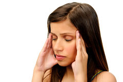 Tension headache Royalty Free Stock Photography
