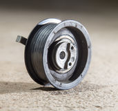 Tension roller motor vehicle Royalty Free Stock Photos