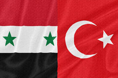 Tension between Syria and Turkey Royalty Free Stock Image