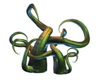 Tentáculos ilustração do vetor