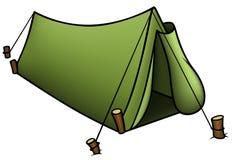 Tent vektor illustrationer