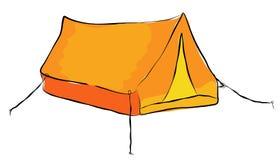 Tent Arkivbild