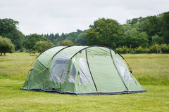 Tent. In a camping site in the New Forest, England Stock Photo