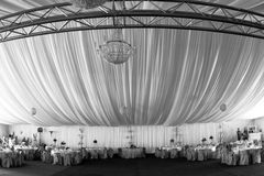 Tent. A very nice and elegant tent royalty free stock images