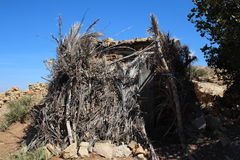 Tent in Atlas mountains, Morocco. Royalty Free Stock Photo