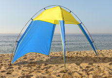 Tent at the beach Royalty Free Stock Image