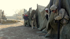 Tent building Stock Photo