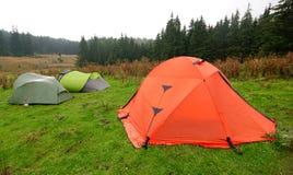 Tent camp Stock Photos