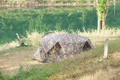 Tent and camp Royalty Free Stock Photography