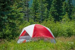 Tent Camper Royalty Free Stock Photography