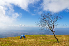 Tent camping Royalty Free Stock Photography